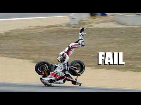 "AMAZING FAIL & CRASH COMPILATION OF MOTORCYCLE !!! ""The Best Of First-Quarter Of 2014"""