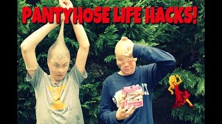 Genius Panty Hose Life Hacks!!