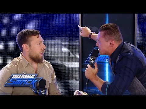 The Miz completely loses it in the face of GM Daniel Bryan: WWE Talking Smack, Aug. 23. 2016