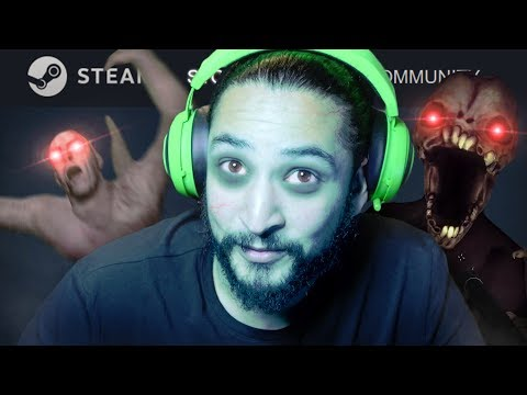 3 STEAM GAMES That Are Kinda Scary