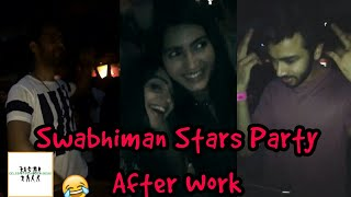 SWABHIMAN Stars Party After Work on Sunday||Swabhiman Actors Offscreen Masti