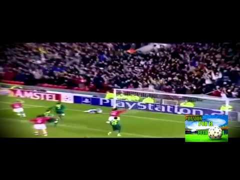 Grandes Goles de Tiro Libre de David Beckham con el Manchester United