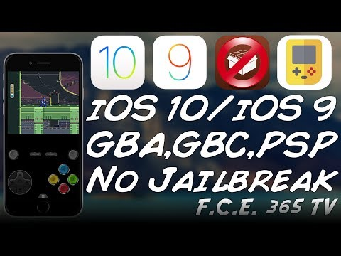 How to play GBA, NDS, N64, PSP Games on iPhone (No Jailbreak) (iOS 10 / iOS 9)