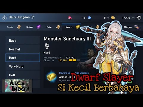 Slayer Build - Cara Cepat Hard Mode Daily Dungeon | Lineage 2 Revolution (indonesia) [Android/ios]