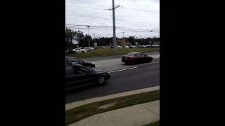 Funeral procession for Sgt Tom Adams, Longport PD