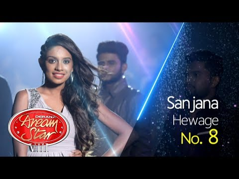Derana Dream Star Season VIII | Honda Hondama Weya By Sanjana Hewage