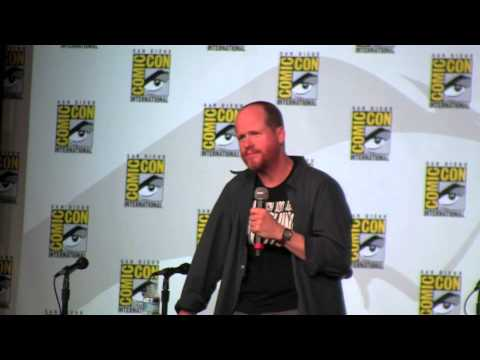 SDCC '12: Joss Whedon Panel