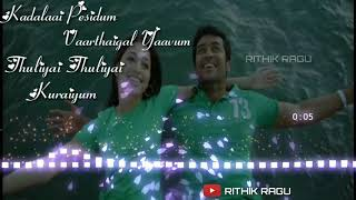 Surya Whatsapp status video Ayan vizhi moodi yosit