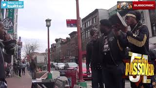 Video: The Lord spared the Black African bloodline from Coronavirus? You Uncle Tom Nigga! - ISUPK