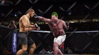 Khabib vs. Pudge (EA Sports UFC 2) - Champion Fight