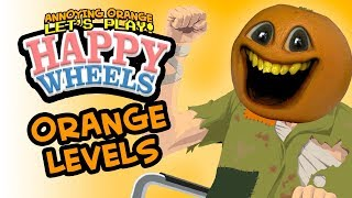 AO Happy Wheels Levels! [Annoying Orange Plays]