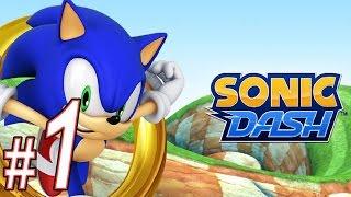 Sonic Dash, Прохождение игры, Часть 1