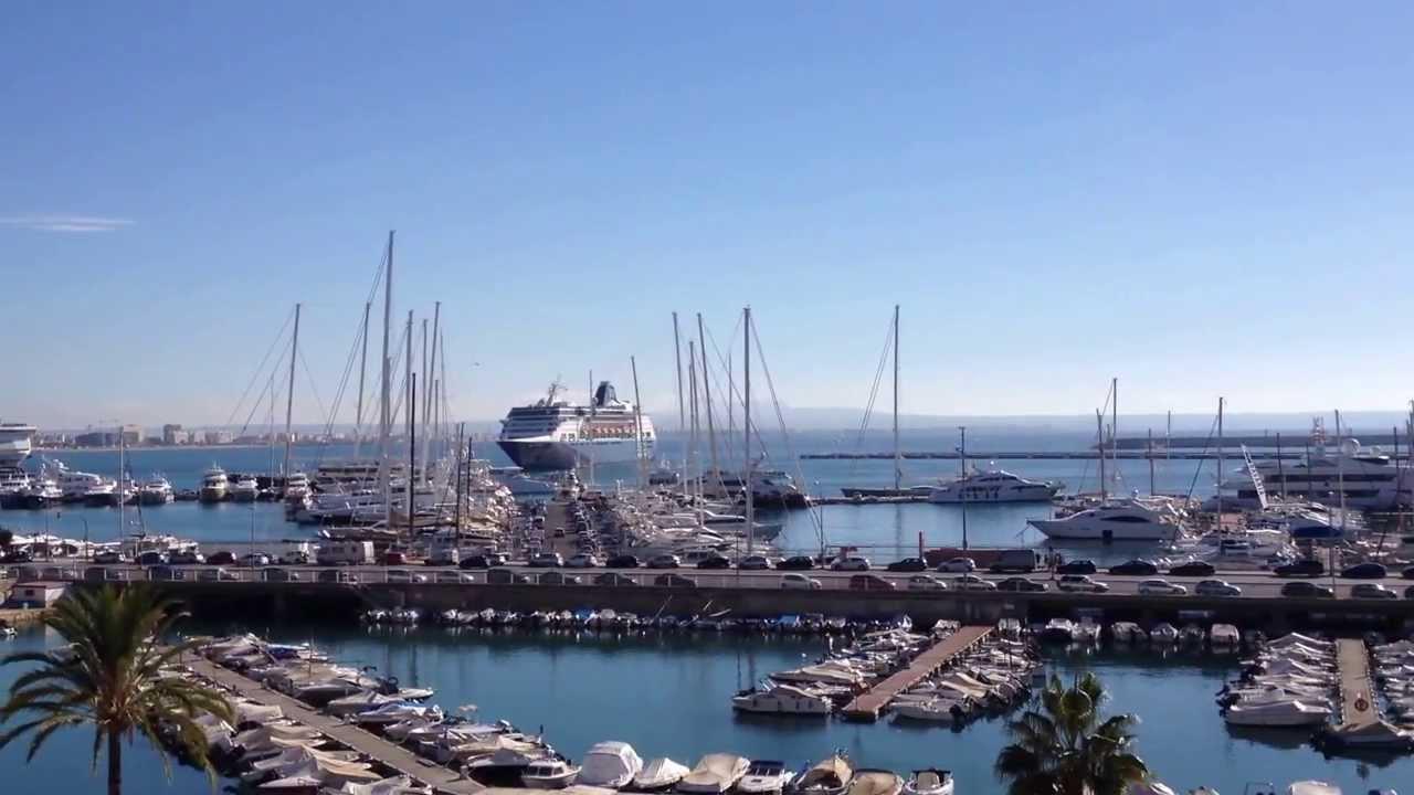 Tui mein schiff video einlauf im hafen von palma de - Job today palma de mallorca ...