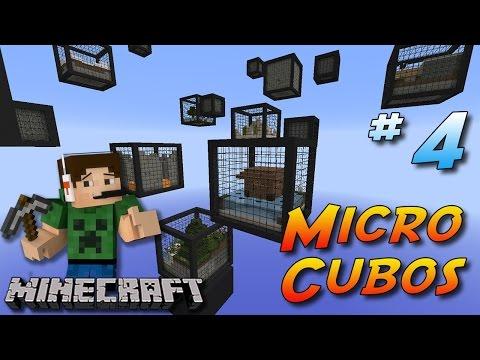 Minecraft 1.8 - Micro Cubos #4 - Fogoooooooooooo  :(