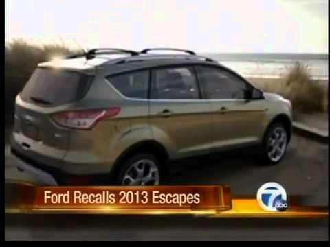 Ford recalls 2013 Escapes