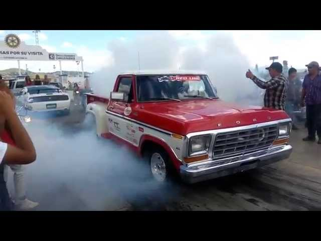 Best Race Moto Hayabuza 1300cc twin turbo vs 1979 Ford Mass Flow Carrera Arrancones Mejores Mundo