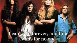 Watch Megadeth Time The Beginning video