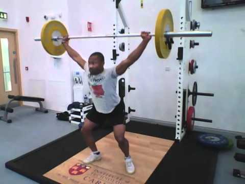Weight Training For Sprinting - Explosive Part 1
