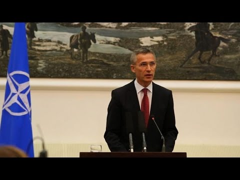 NATO chief vows Afghan support as combat mission ends