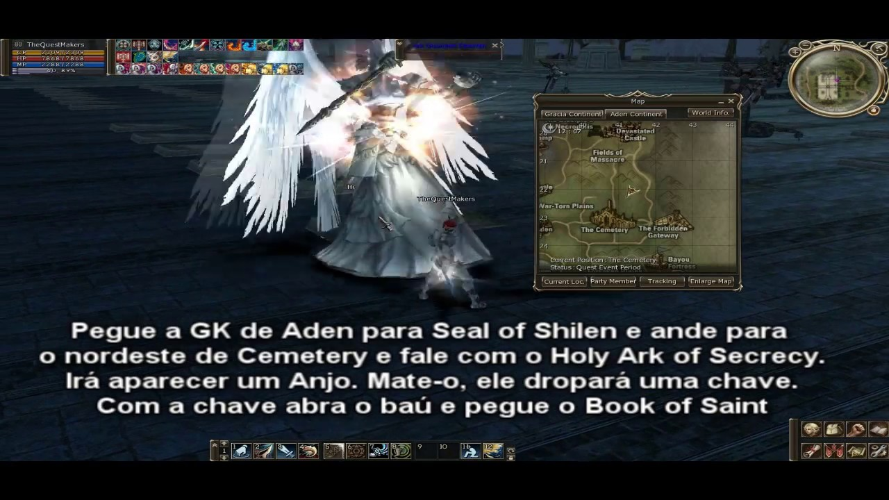 Quests | Lineage 2 Wiki | FANDOM powered by Wikia