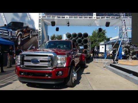 super duty 350 f report truck