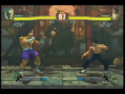 Street Fighter 4 All Personal Actions and Colors