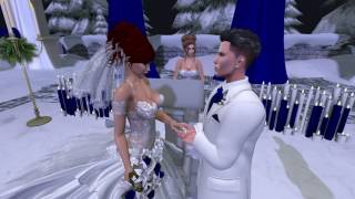 Drew and Rose Second Life Wedding - 12.8.16