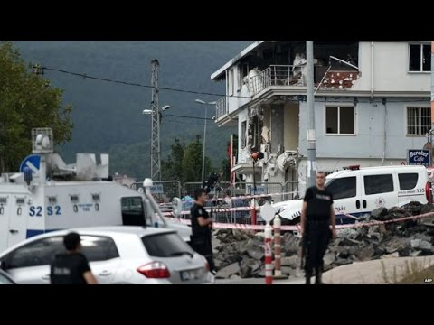 Deadly car bomb targets police post in southeast Turkey