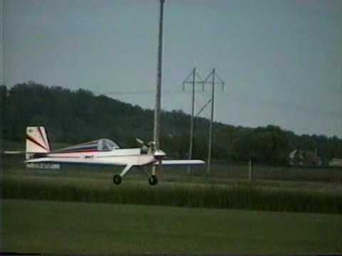 RC aerobatics with an Ace Bingo - torque maneuvers, hammerheads, tail-slides