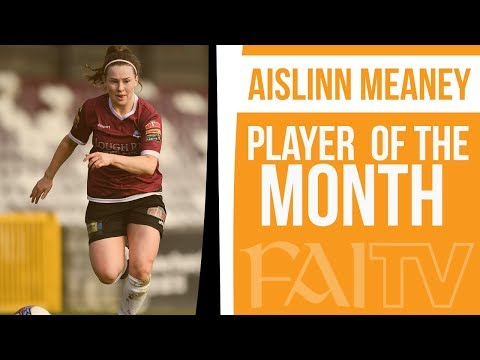 Meaney wins Player of the Month award for May