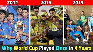 Why Cricket World Cup Played after every 4 Years । वर्ल्ड कप हर ४ साल में एक बार क्यों