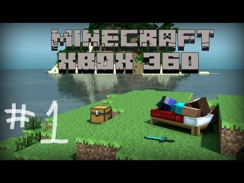 Minecraft Xbox 360: Lets Play-(Ep:1)- Great Spawn!