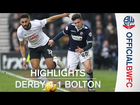 HIGHLIGHTS | Derby 4-1 Bolton