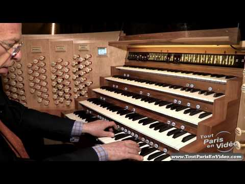 Cathédrale Notre Dame de Paris - Le grand Orgue (Full HD)