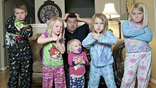 24 HOURS WITH 5 KIDS AND NO MOM!
