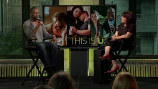 "Sterling K. Brown Discusses New Show, ""This Is Us"" 