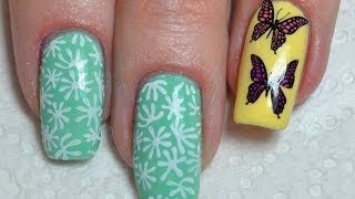 How to use Konad Stamping and Stamp Multi Colored Designs