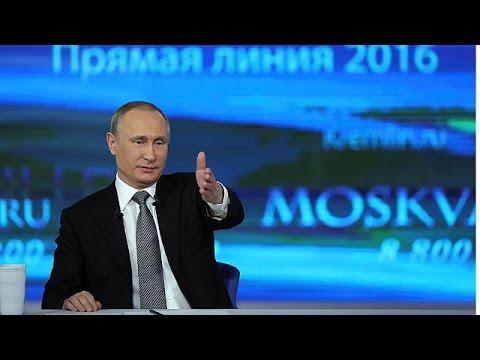 """Putin: """"Rusya ekonomisi bu yıl da biraz küçülecek, önümüzdeki yıl büyümeye başlayacak"""" - economy"""