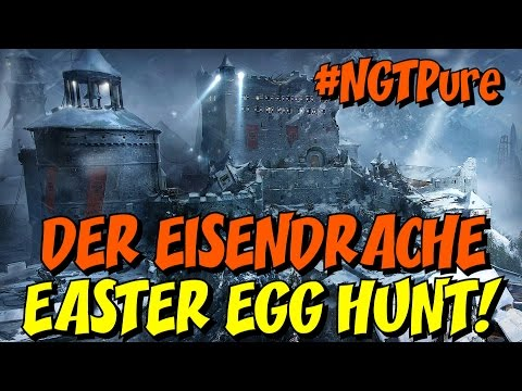 "DER EISENDRACHE Easter Egg Hunt LIVE! ★ ""My Brother's Keeper"" Trophy Hunt"