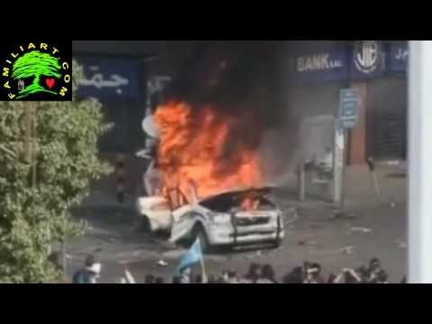 Protesters in Tripoli Lebanon Attack Aljazeera الإعتداء على الجزيرة طرابلس2