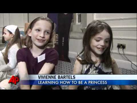 "Royal Wedding Inspires Preteen ""princesses"""