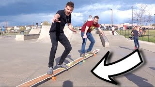 We Built TERRIBLE Skateboards From Home Depot!