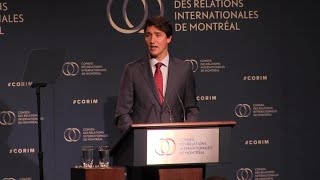 Trudeau says Canada won39t back down against China