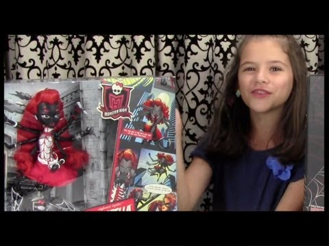 Monster High Webarella (Wydowna Spider) Doll Review! Comic-Con Exclusive!   KITTIESMAMA