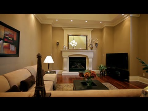 How to decorate a living room youtube for Decorate my family room