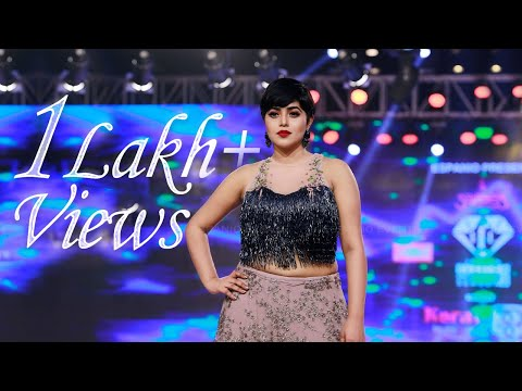 Shamna Kasim | indian fashion league season 3 | Showstopper  | Fashion Show | Design ME | IFL3