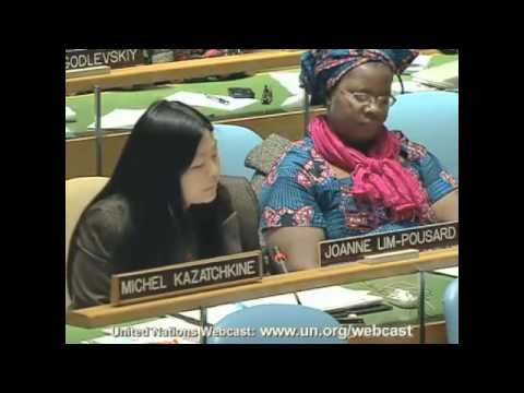 Levi Strauss & Co. at UN Civil Society Hearings
