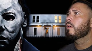 Real Life Michael Myers Haunted House On Halloween