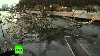Superstorm aftermath_ Video of damage, flooding in New York in Sandy's wake