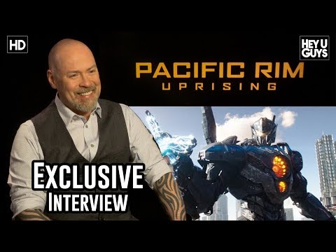 Director Steven S. DeKnight - Pacific Rim Uprising Exclusive Interview